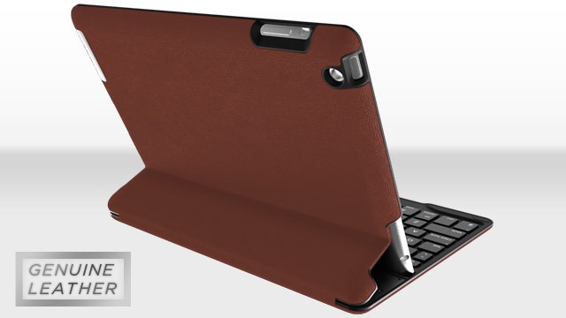 ZAGGKeys PROfolio+ iPad Keyboard Cases Now Available in Leather
