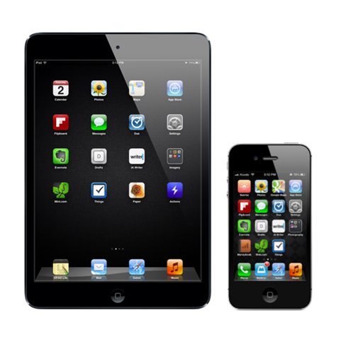 An Interesting Idea: Matching Up Your iPad and iPhone Home Screens