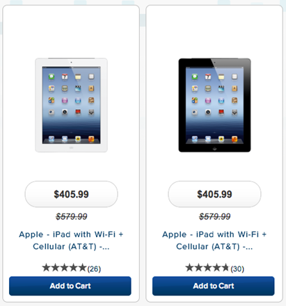 Best Buy Discount iPads
