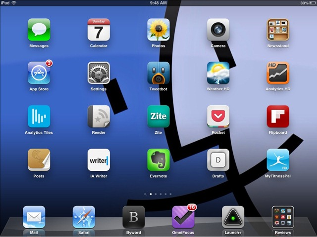 Weekend iPad Wallpaper: Finder
