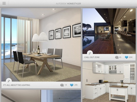 best free ipad app of the week homestyler ipad insight. Black Bedroom Furniture Sets. Home Design Ideas
