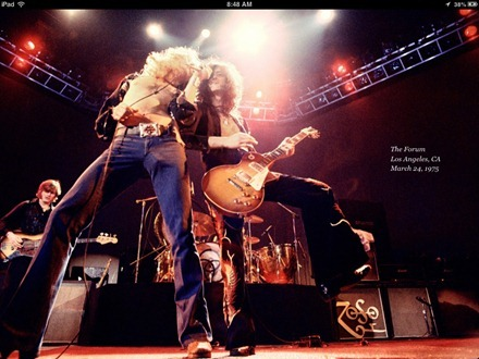 Led Zeppelin Sound and Fury iBook