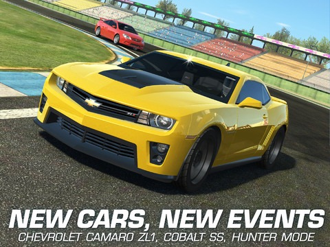 Real Racing 3 for iPad Updated: New Cars, New Event Type & More