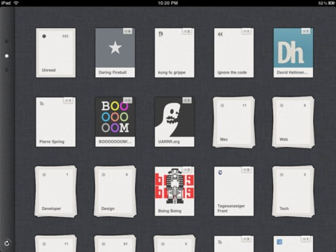 Reeder iPhone App Adds First Google Reader Replacement Sync Service