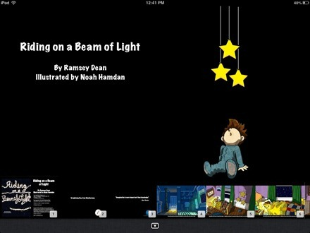 Riding on a Beam of Light iBook