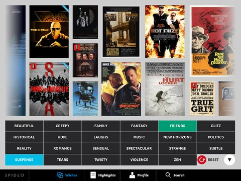 Spideo Instant Movie Discovery iPad App Updated –Adds Netflix Support
