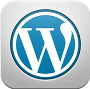 Wordpress iPad app icon