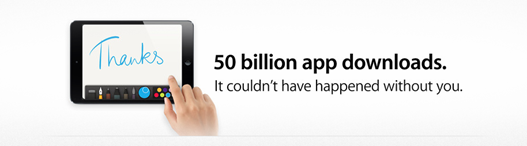 50 Billion App Store Downloads