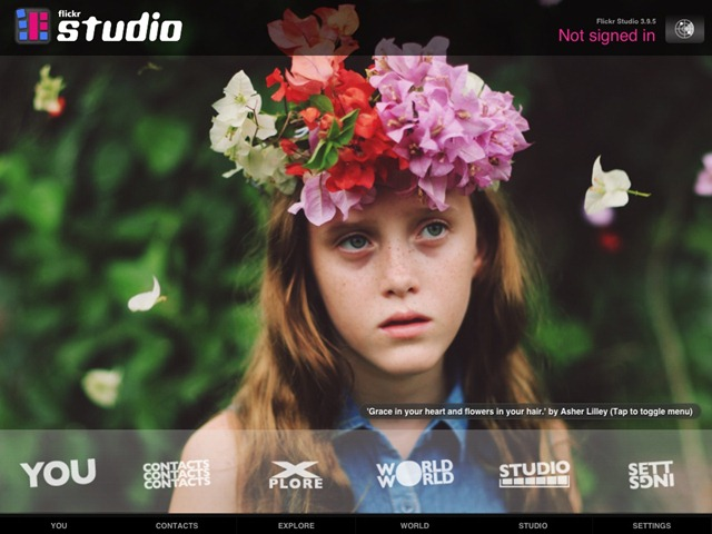 Price Drops: Flickr Studio for iPad Free Today Only