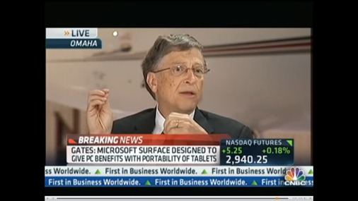 Gates on Frustrated iPad users