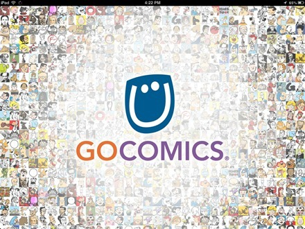 GoComics iPad app