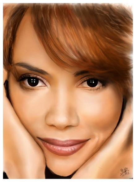 Halle Berry by Woon Tien David Chong