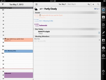 Pocket Informant Pro iPad app