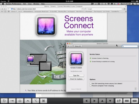 Price Drops: Screens VNC iPad/iOS App On Sale at 50% Off