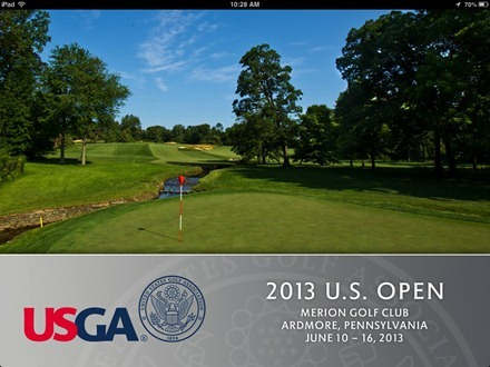 2013 US Open Golf Championship for iPad