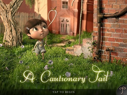 A Cautionary Tail iPad storybook app