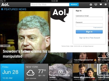 AOL Mail New Video