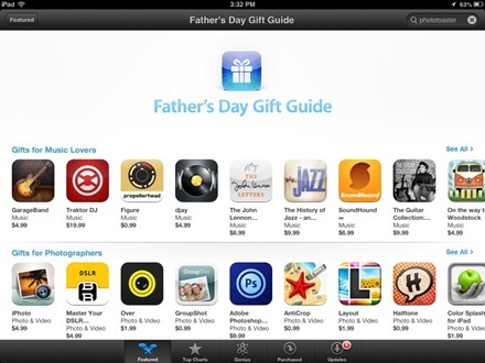 App Store Fathers Day Gift Guide