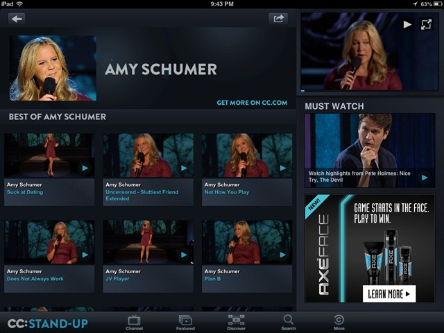 Best Free iPad App of the Week: Comedy Central's CC: Stand-Up