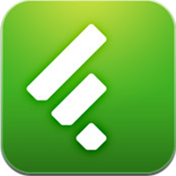 Feedly iPad app icon