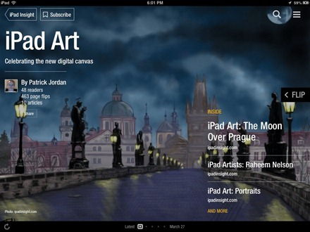 Flipboard iPad Art