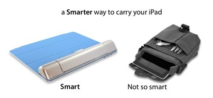 Smarter way to carry iPad accessories