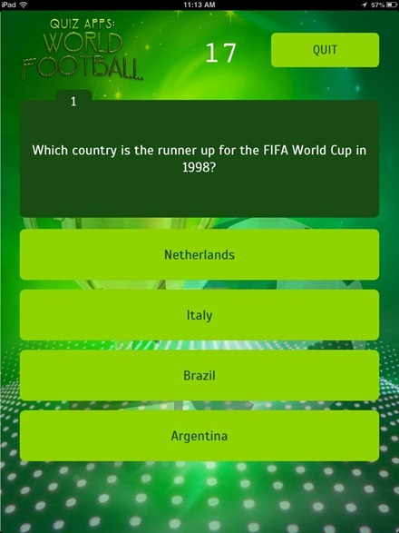World Cup trivia question