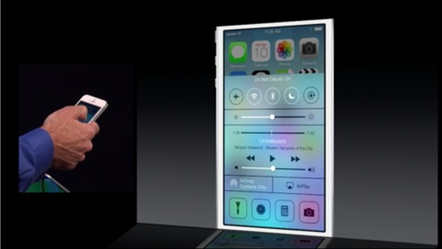 iPad Really Took a Back Seat in Apple's iOS 7 Demo