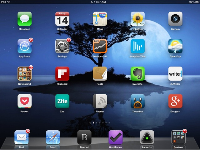 Say Hello to My Big (Neglected) Friend, the iPad 3
