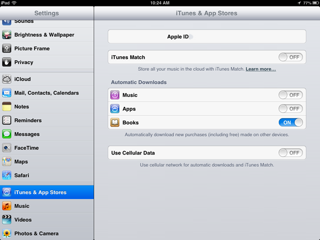 Ipad basics how to stop apps music from downloading for Apps to change photos