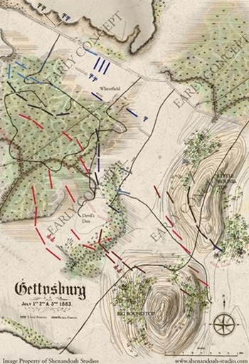 Gettysburg The Tide Turns Concept Art
