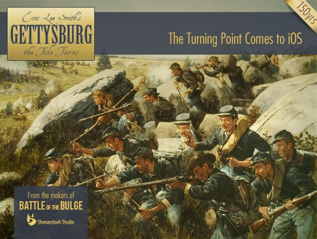 Gettysburg: The Tide Turns – Kickstarter Project for Another Great iPad Wargame