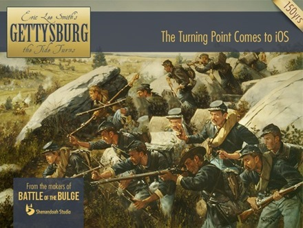 Gettysburg The Tide Turns iPad Game