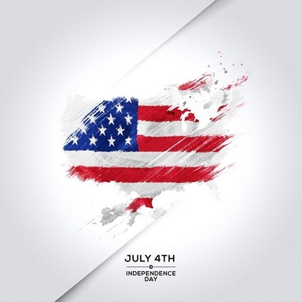 July 4th iPad wallpaper