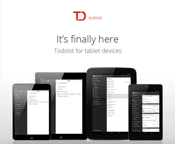 Todoist To Do List Now Has an iPad App and It Looks Great