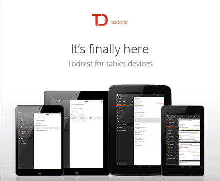 Todoist To Do List for iPad