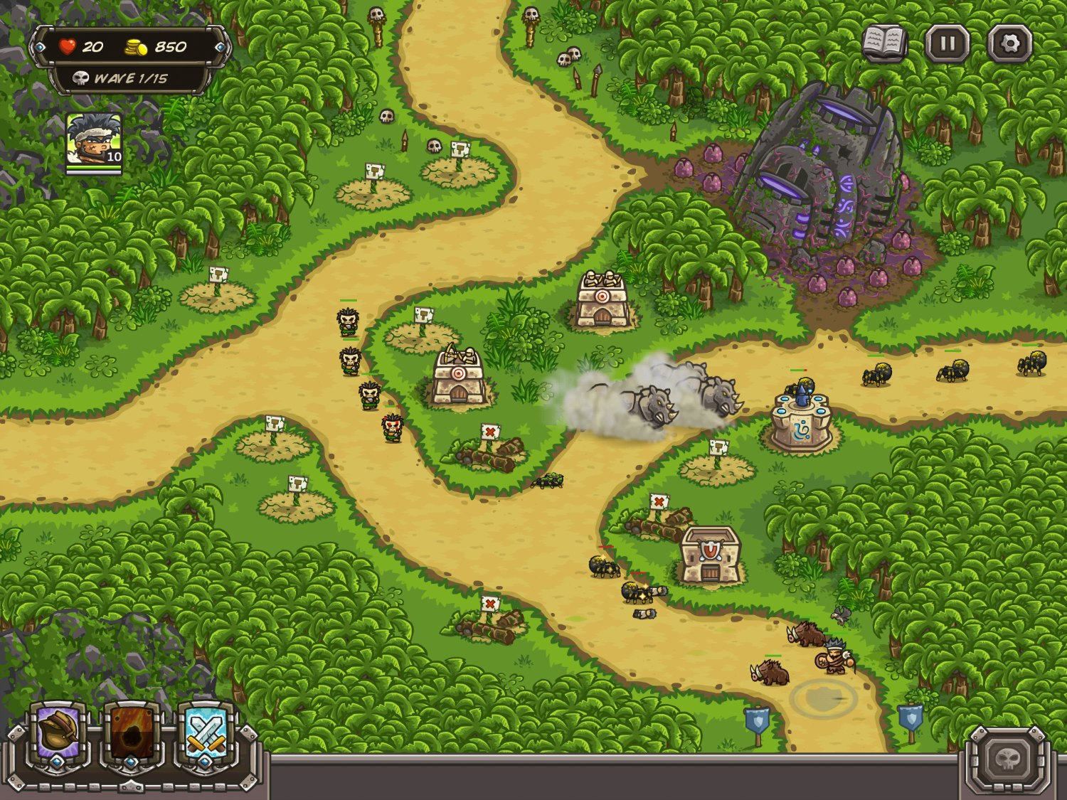Kingdom rush frontiers review - Photo