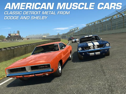 Real Racing 3 for iPad Updated: Adds American Muscle Cars