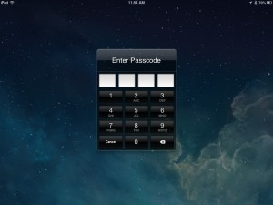 iPad Passcode Lock