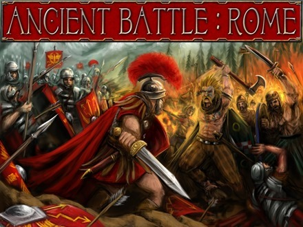 Ancient Battle Rome iPad app