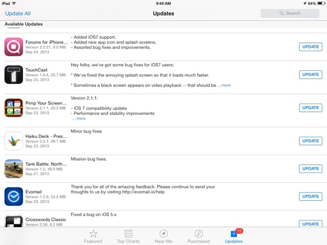 ios app for ipad
