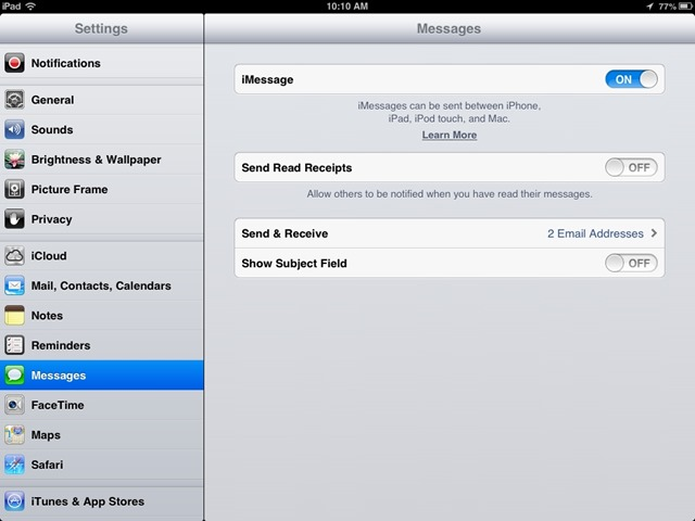 iPad Basics: How to Change the Email Address for Messages