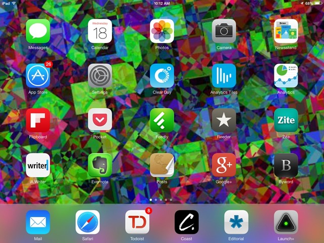 Minimalist Parallax Hd Iphone Ipad Wallpaper: Roll Your Own Parallax Wallpapers For IOS 7 With The Deko