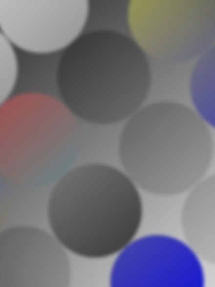 Blur Colored Circles iPad wallpaper