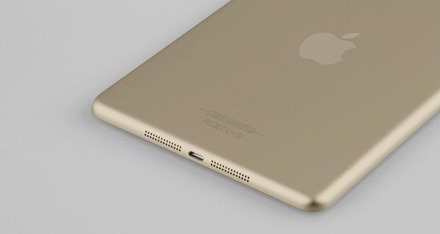 Gold iPad mini 2