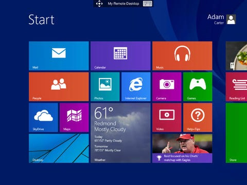 Notable New iPad Apps: Microsoft Remote Desktop