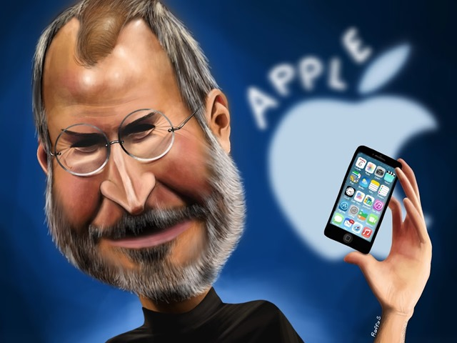 iPad Art: Steve Jobs