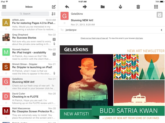 Best iPad App of the Week: Boxer for Gmail, Outlook, Exchange and More