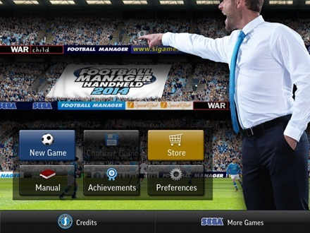 Football Manager Handheld 2014 for iPad