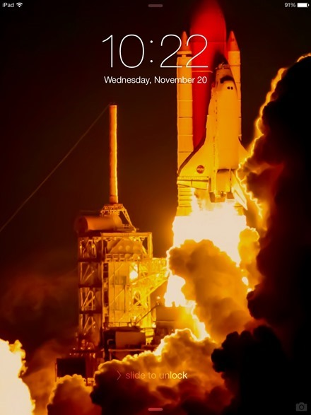 Lift Off Lock Screen